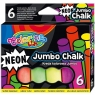 Kreda Jumbo Colorino Kids, 6 kolorów - neonowe (92081PTR)